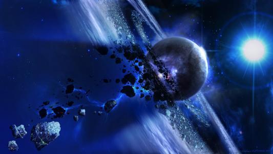 空间,大灾变,小行星