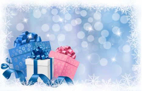 新年,圣诞节,球,圣诞节,假期,新的一年