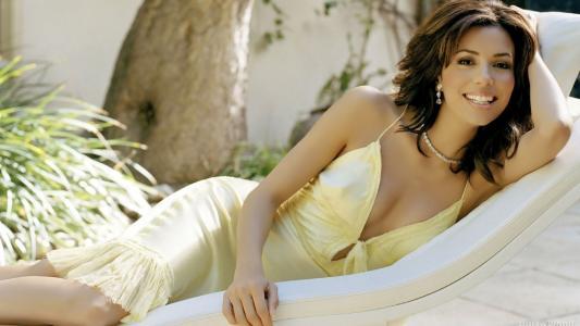 伊娃·朗格利亚,女演员,性感,图,脸,微笑,眼睛,嘴唇,礼服,美女