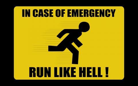 注意,人,警告