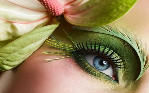 创意,眼睛,颜色