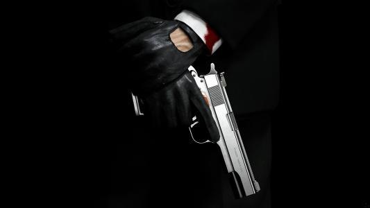 袖,刺客,血,手套,杀手,赦免,枪