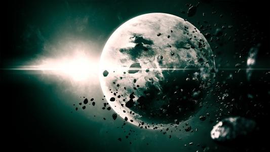 星球,明星,空间,空间,小行星