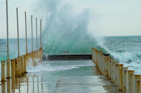 海风,海风,风,飓风,敖德萨,黑海