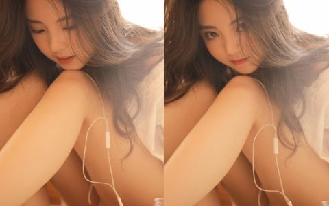 清纯唯美系女孩白嫩性感私房写真