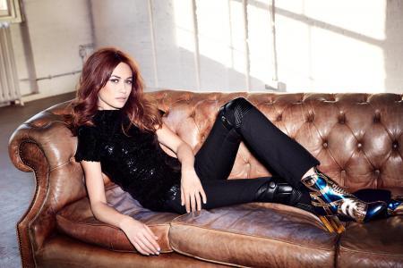 欧嘉·柯瑞兰寇,奥尔加·柯瑞兰寇,模特,演员,黑发,照片拍摄,杂志,乌克兰