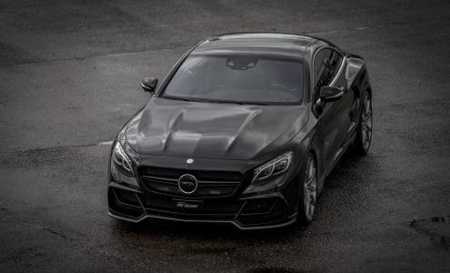 奔驰,奔驰,超级跑车,黑色,帅气