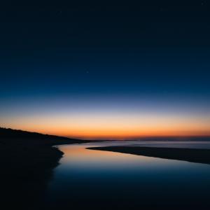 唯美的夕阳落日美景