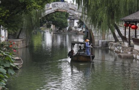 昆山锦溪古镇风景