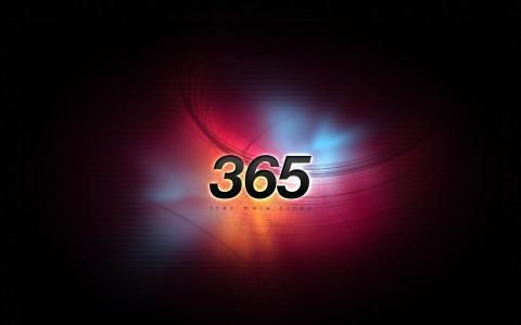壁纸,数字,365,极简主义