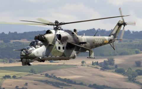 直升机,作战,武器,俄罗斯,Mi-24
