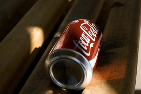 可口可乐,饮料,罐子,可口可乐