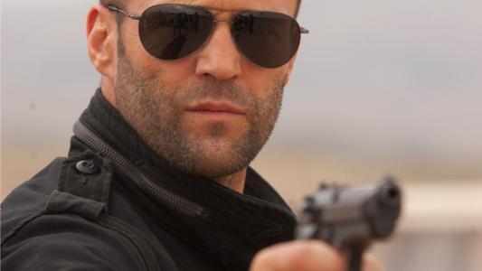 杰森·斯坦森,男人,眼镜,武器,演员,枪