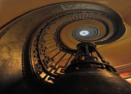 图书馆力学,梯子,螺旋