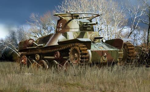 4型,坦克,可女,轻,可女,艺术,坦克,日语