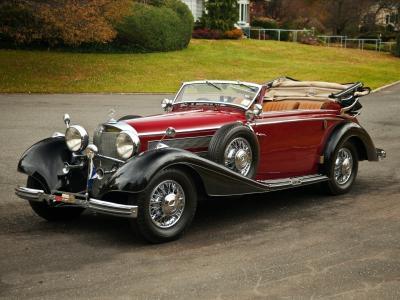 由sindelfingen,敞蓬车,敞蓬车,1937年,540k,梅赛德斯 - 奔驰,奔驰