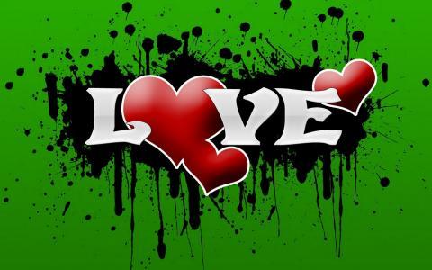 图片,题字,心脏