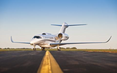 飞机,塞斯纳奖状X,机场