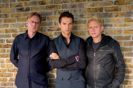 Depeche模式,乐队,音乐家,砖墙背景