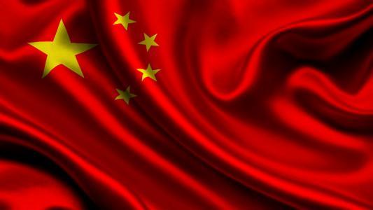 中国,国旗,3d,中国,国旗