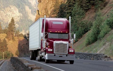 经典,货运,经典,卡车,拖拉机,Freightliner