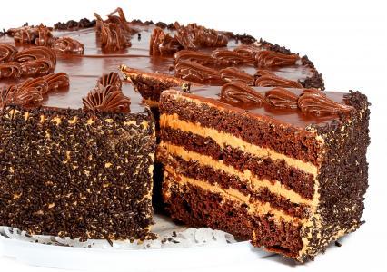 奶油,甜点,蛋糕