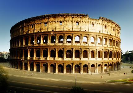 罗马,罗马,斗兽场,意大利,体育馆,建筑