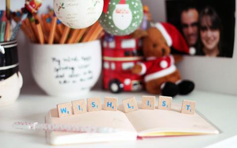 希望,表,新的一年,圣诞老人,玩具,假期,圣诞节