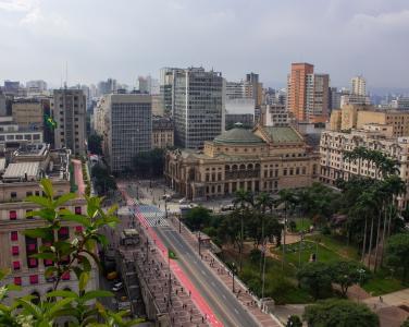 圣保罗,巴西,全景