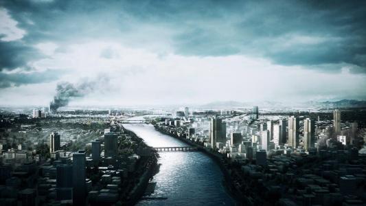 河,城市,街道,3,战场,建筑物,桥梁
