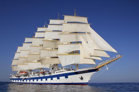 皇家帆船,帆船,船,美丽