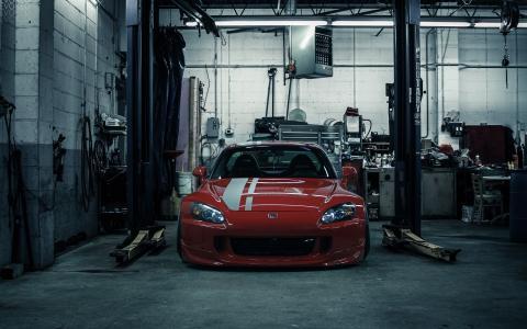 本田,S2000,车库