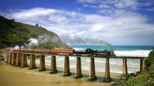 铁路,方式,火车,桥梁