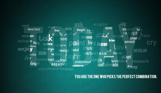 单词,信件,创意,极简主义,壁纸