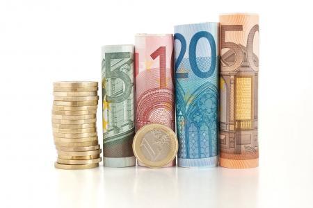 钱,欧元,纸币,钞票,条例草案,货币,一揽子钱,宏,欧元,钱,geld,银