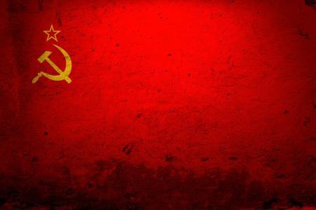 苏联,国旗,镰刀和锤子
