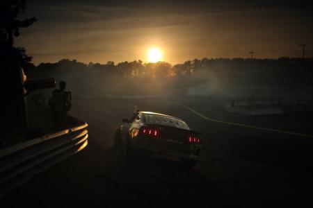 福特,野马,GT500,配方,灯,漂移,道路,福特,野马,漂移,轨道,日落