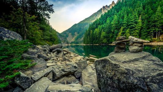 加拿大,大自然,美丽