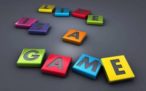 生活就是一场游戏