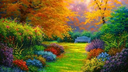 秋天,丰富多彩,图片