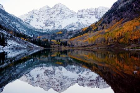 科罗拉多州,美国,秋天和冬天的会议