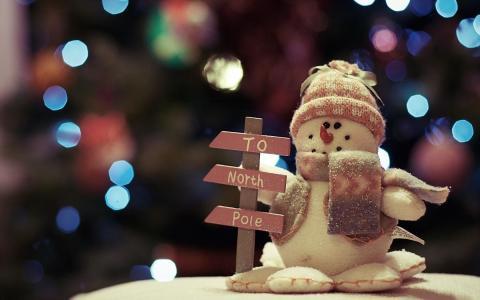 玩具,雪人,假期