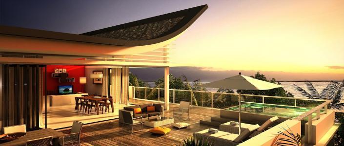 室内,风格,设计,房子,别墅,阁楼,生活空间,阳台