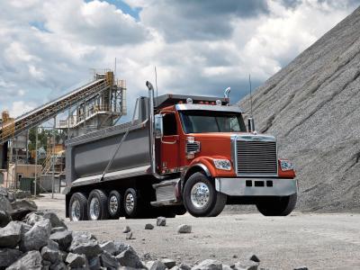 Freightliner,卡车,拖拉机,采石场,自卸车,美国