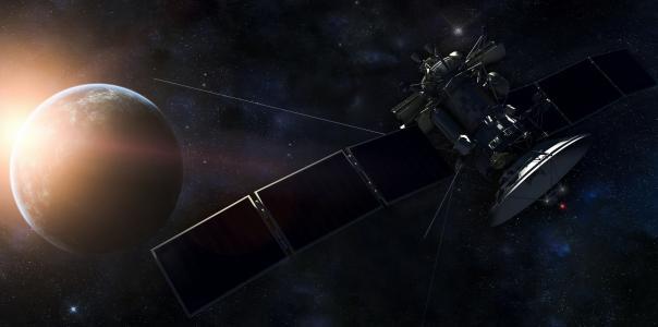 空间,卫星,地球