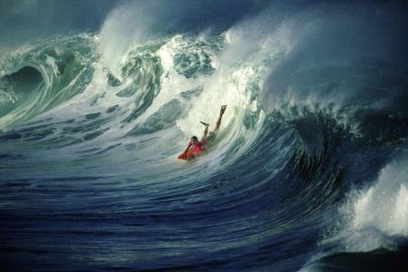 运动,冲浪,波浪,极端