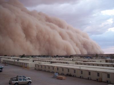 家,沙,风暴