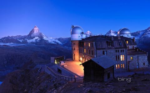 瑞士,亲相片,冰,山,阿尔卑斯山,站