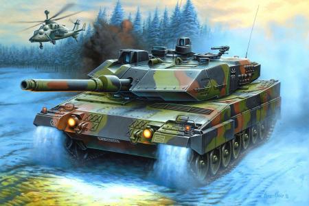 主战坦克,直升机,恩佐马奥,绘图