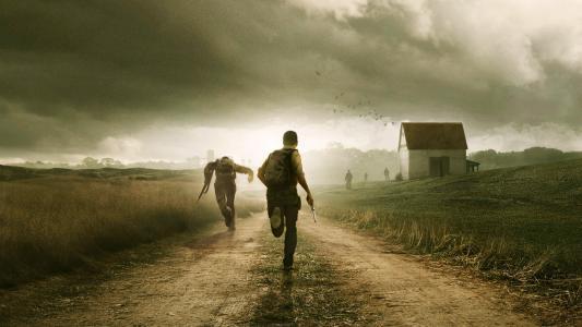 运行,云,僵尸,Dayz,武器,幸存者,道路